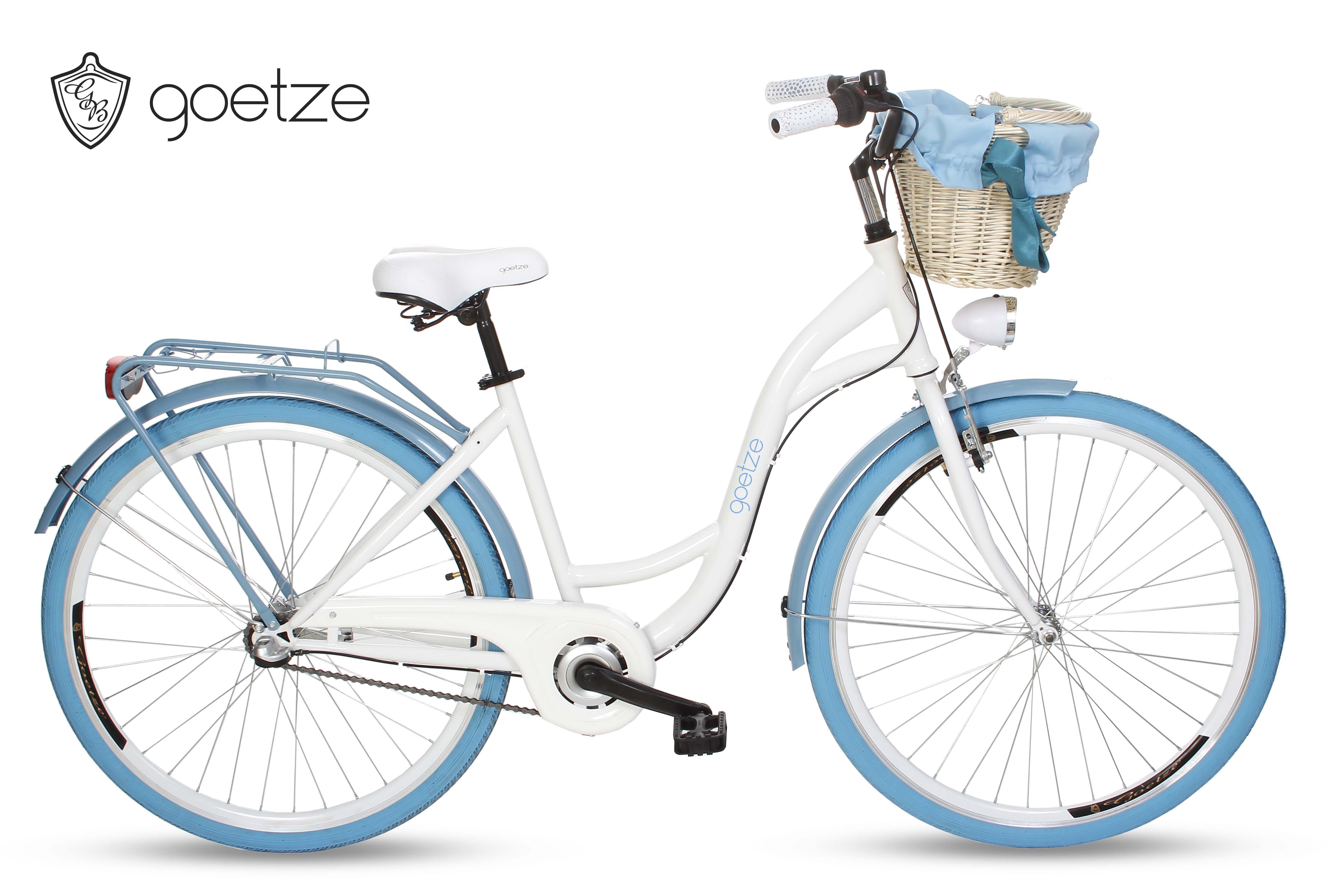 sport und erholung fahrr der und zubeh r citybikes damenfahrrad mit korb citybike retro. Black Bedroom Furniture Sets. Home Design Ideas